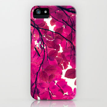 Magenta iPhone & iPod Case by Sandra Arduini