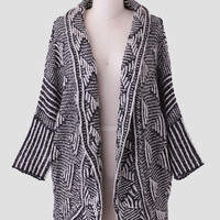 Winding Trails Cocoon Cardigan