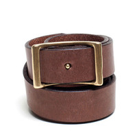 The Essential Belt in Brown | Everlane