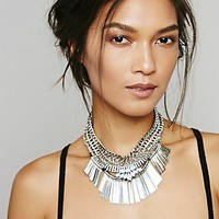 Free People Royal Mesh Collar