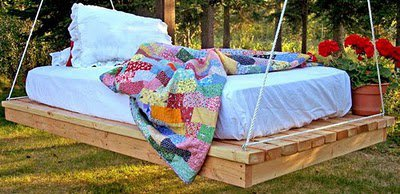 Build a Easiest Hanging Daybed