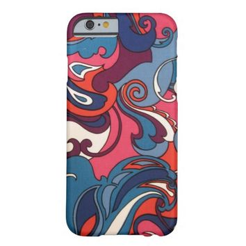 Vintage Retro Abstract pattern iPhone 6 case