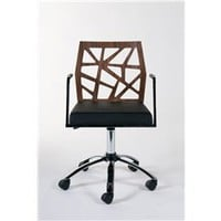 Sophia Modern Design Chrome Base Office Chair, Contemporary Office Chair, Chrome Base Office Chair: Nyfurnitureoutlets.com