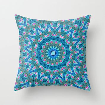 jubilee Throw Pillow by Sylvia Cook Photography