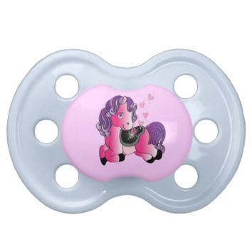 happy little horse pacifier baby pacifiers