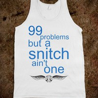 Harry Potter - 99 problems but a snitch ain't one - tank