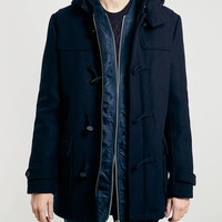Selected Homme Navy Duffel - Men's Jackets & Coats - Clothing - TOPMAN USA