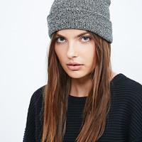Reason Basic Beanie in Speckled Grey - Urban Outfitters