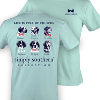 Simply Southern Dog Shirt - Mint