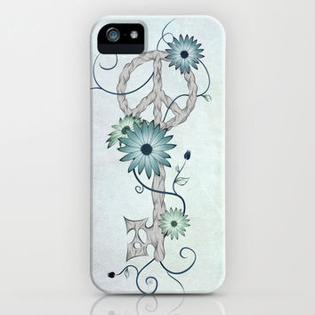 Key To Peace iPhone & iPod Case by LouJah
