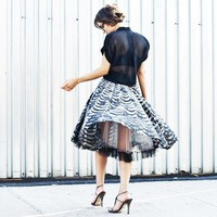 the glamourai: { a very special skirt }
