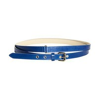 REISS Womens Julio Blue Double Wrap Belt