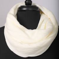 Easy As Pie Scarf, ivory
