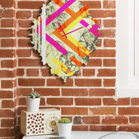 Pattern State Chevy Rose Baroque Clock