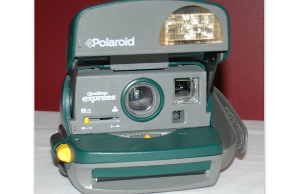 Polaroid One Step Intant 600 Vintage Camera