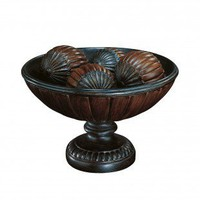 Lite Source Greco Table Top in Dark Bronze/Antique Gold - C4997