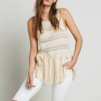 Intimately Womens Textured Lace Tunic - Tea