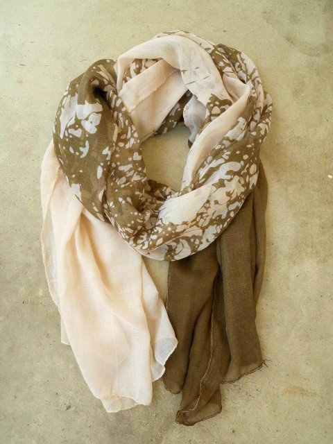 Friends of the Earth Scarf [2254] - $21.00 : Vintage Inspired Clothing &amp; Affordable Summer Dresses, deloom | Modern. Vintage. Crafted.