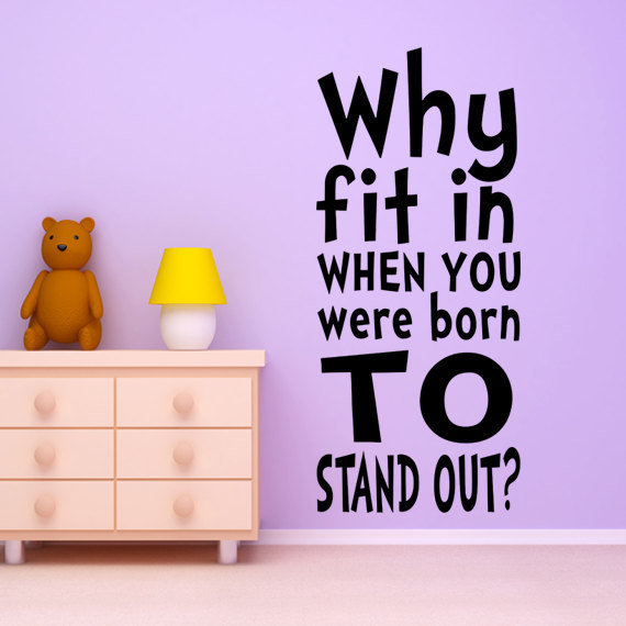 Dr. Seuss Wall Decal Vinyl Sticker Art Decor for Birthday Party Shower Child baby or Children's Nursery boy or girls room Decor Quote Mural