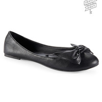 Invite Only Bow Ballet Flat