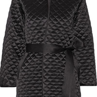 Adam Lippes - Quilted silk-satin jacket