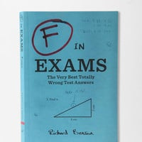 F In Exams By Richard Benson