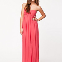 Dreamy Dress - Nly Trend - Calypso Coral - Party Dresses - Clothing - Women - Nelly.com