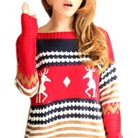 CABIN WISHES AND WINTER MOMENTS KNIT SWEATER | Paper Kranes