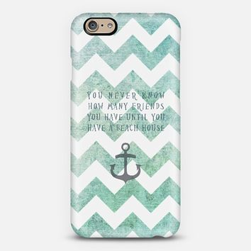 beach house iPhone 6 case by Sylvia Cook | Casetify