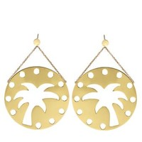 EMMA MULHOLLAND | Palm Tree Earrings | Browns fashion & designer clothes & clothing