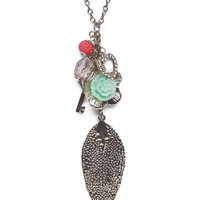 Boho Charm Necklace | Wet Seal