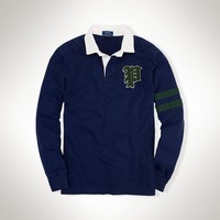 """Custom-Fit Gothic """"P"""" Rugby"""