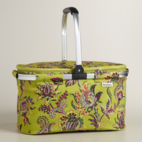 Sahara Bloom Insulated Collapsible Tote - World Market