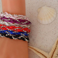 Colorful Bracelets - Summer Style - For Beach - Choose only one - 6 different colors...