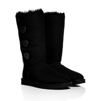 UGG Australia - Suede Bailey Button Triplet Boots