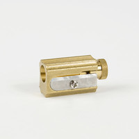 Canoe: Adjustable Brass Pencil Sharpener