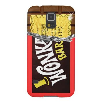 Wonka Bar Golden Ticket Samsung Galaxy S5 Case
