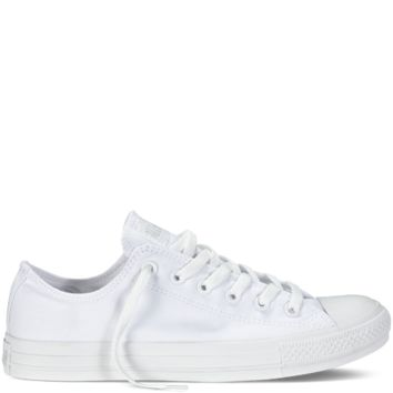 Chuck Taylor Monochrome Canvas - White - All Star - Converse