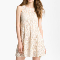Free People &#x27;Miles of Lace&#x27; Trapeze Dress | Nordstrom