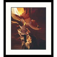 Great American Picture Antelope Canyon, Arizona Framed Photograph - Adam Jones - AJ59268