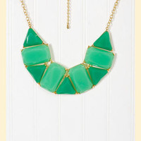 Taking Shape Necklace in Turquoise
