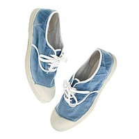 Women's SHOES & SANDALS - sneakers - Bensimon Chambray Sneakers - Madewell