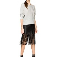 Thursday Night Fringe Skirt