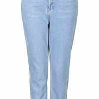 PETITE MOTO Baby Blue Mom Jeans