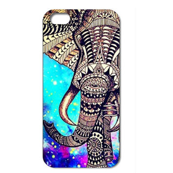 Trippy Elephant With Rad Design!
