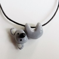 Hanging Koala Necklace