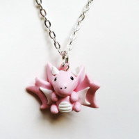 Handmade Dragon Charm Necklaces - Lot's of Styles and Colors!
