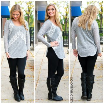 Better In Time Tunic - GREY /
