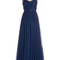 ModCloth Vintage Inspired Long Sleeveless Maxi Endless Enchantment Dress