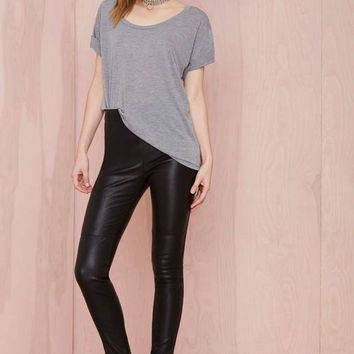 Nasty Gal Leather - The Jett Pant
